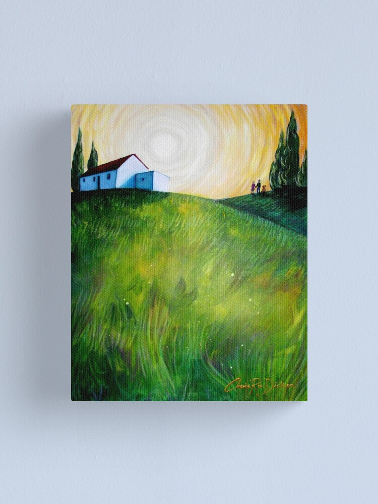 Alternate view of Country Life Canvas Print