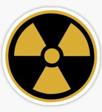Nuclear Symbol, Nuke Icon Sticker
