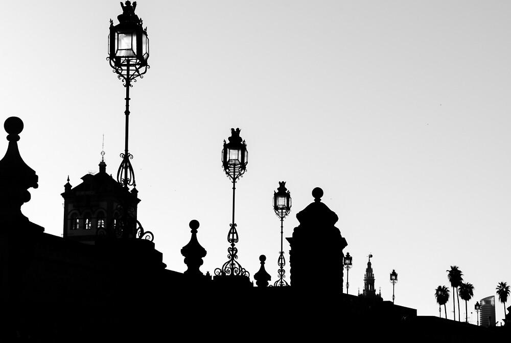 Seville in Silhouette by Andrea Mazzocchetti