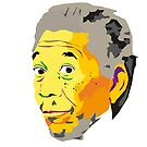 Morgan Freeman aka god by 2piu2design
