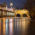 Bath at Night by Carolyn Eaton