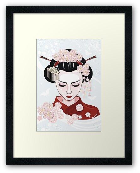 Geisha by torishaa