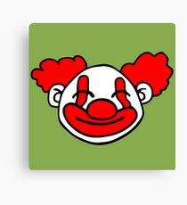 funny clown Canvas Print