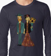 Love is Art Frida Kahlo and Van Gogh T-Shirt