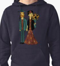 Love is Art Frida Kahlo and Van Gogh Pullover Hoodie