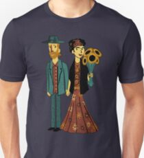 Love is Art Frida Kahlo and Van Gogh Unisex T-Shirt
