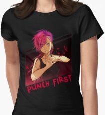 Punch First VI Womens Fitted T-Shirt