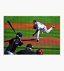 Braves VS Yankees Disney World March 2013 Photographic Print