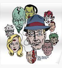 Earl Foureyes Mutant Detective World Poster