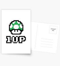 1 UP - Super Mario Bros. Postcards