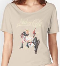 Nukacola Pin-up Women's Relaxed Fit T-Shirt