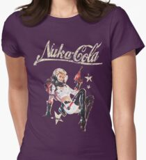 Nukacola Pin-up Womens Fitted T-Shirt