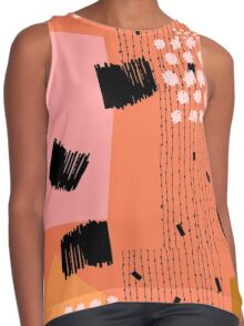 Clementine Contrast Tank