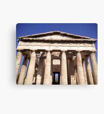 Temple of Haphaestus Canvas Print