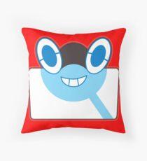 Rottom Pokedex - Pokemon Sun and Moon Throw Pillow