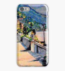 Mediterranean walkway iPhone Case/Skin