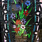 Stained Glass Front Door by Jane Neill-Hancock