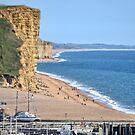 West Bay Beach, Dorset by lynn carter