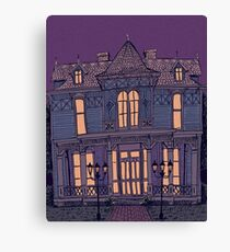 Victorian Mansion Canvas Print