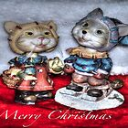 Christmas  Cats by DreamCatcher/ Kyrah