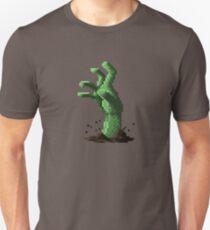 Zombie Grasp Pixels T-Shirt