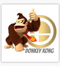Donkey Kong Super Smash Bros Sticker