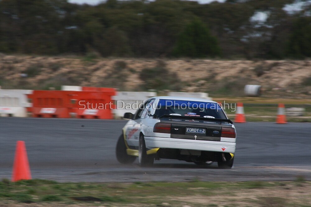 Oz Gymkhana #43 Ford Falcon XR6 Turbo by Stuart Daddow Photography