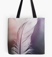 Feather in Pastel Tones Tote Bag