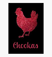 Chookas in Glitter Photographic Print
