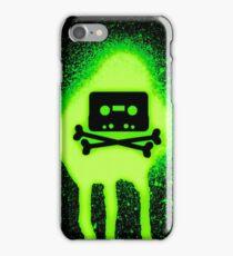 Cassette Tape and Bones iPhone Case/Skin