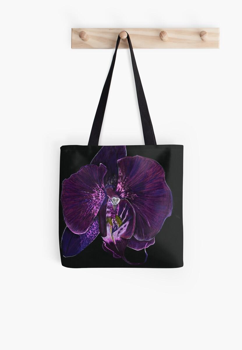 Black iris by MoriahA