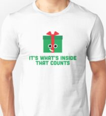 Christmas Character Building - It's whats inside… T-Shirt