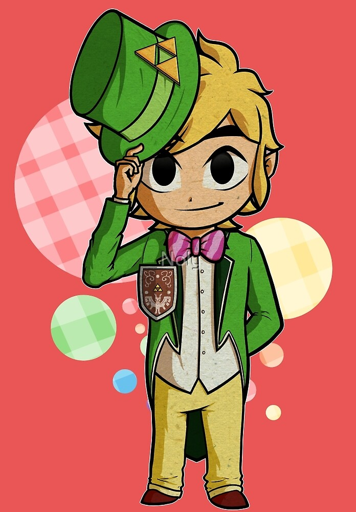 Quot Top Hat Toon Link Quot By Noly Redbubble