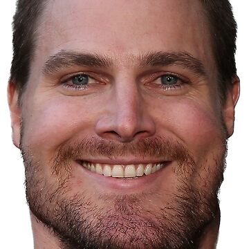 Stephen Amell Face Throw Pillow by Shappie112