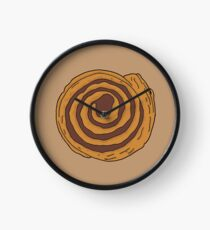 Cinnamon Swirl Clock
