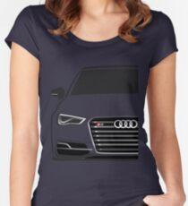 Audi S3 Half Cut Women's Fitted Scoop T-Shirt
