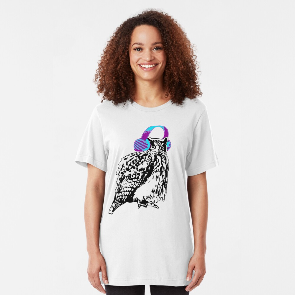 Owl'll Be Warm Soon Enough Slim Fit T-Shirt