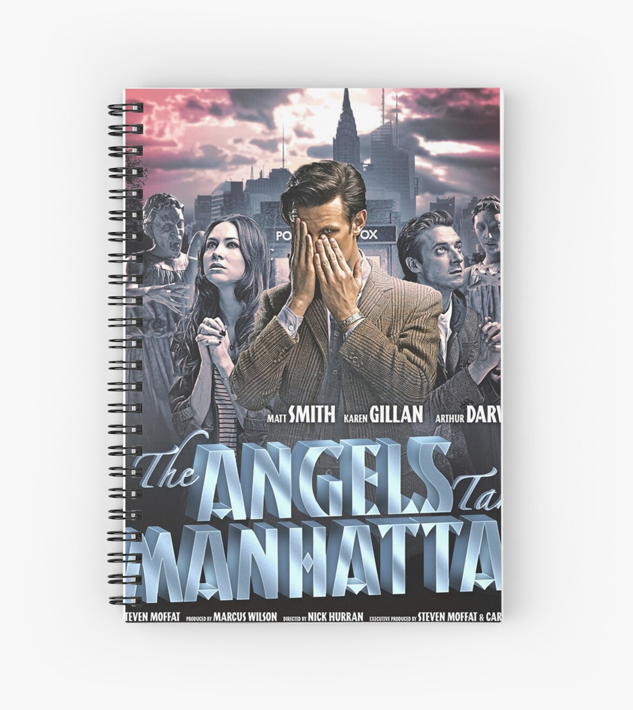 """""""The Angels Take Manhattan"""" Spiral Notebooks By DAstora"""