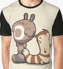 Furry Ferrets Graphic T-Shirt