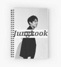 Jungkook Spiral Notebook