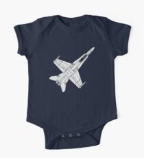 F 18 Hornet Jet Fighter One Piece - Short Sleeve