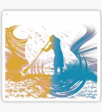 Paddleboarder Sticker