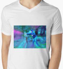 Man Punching Kangaroo |MERCH| Men's V-Neck T-Shirt