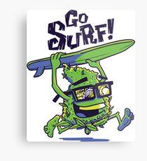California Surfing Bud Metal Print