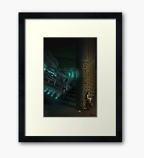 Reckless thief Framed Print