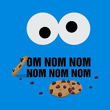 Om Nom Nom Cookies by DJBALOGH