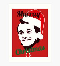 Murray Christmas Art Print