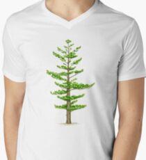 White Pine (Pinus strobus) V-Neck T-Shirt