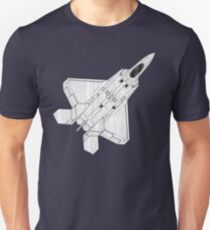 F 22 Stealth Fighter Jet Unisex T-Shirt