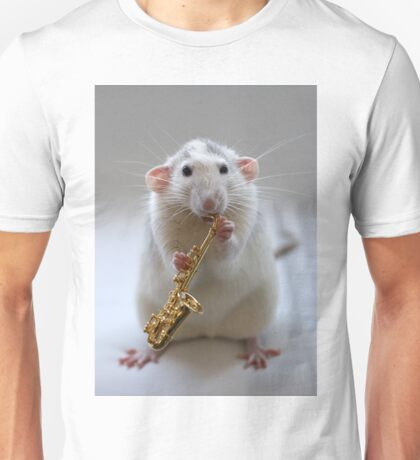 Trying to play the saxophone. T-Shirt
